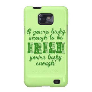 Bastante afortunado ser irlandés galaxy s2 fundas