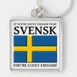Bastante afortunado ser llavero del sueco de Svens