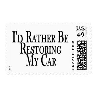 Bastante coche del restablecimiento envio