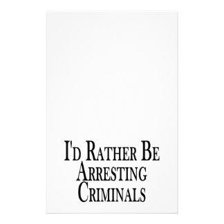 Bastante criminales de la detención papeleria personalizada