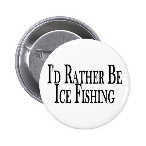 Bastante pescados del hielo pin redondo 5 cm
