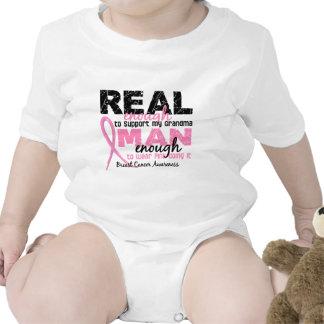 Bastante real hombre bastante cáncer de pecho de l traje de bebé