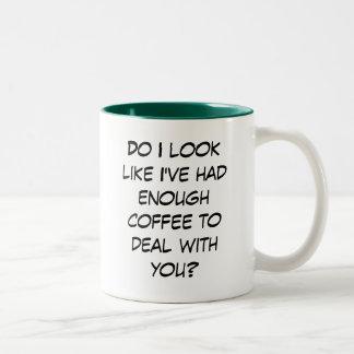 ¿Bastante trato del café… con usted? Taza De Café