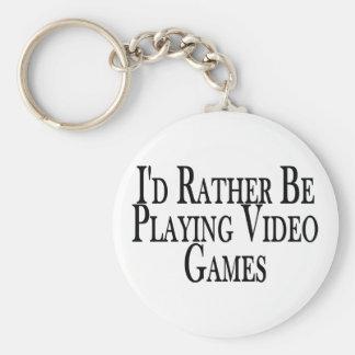 Bastante videojuegos del juego llavero redondo tipo pin