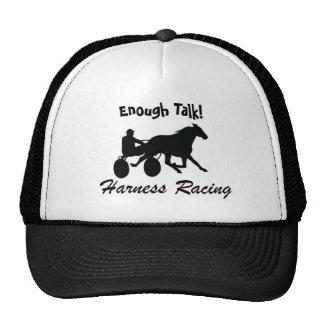 Bastantes hablan competir con de arnés gorra