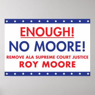 ¡Bastantes! ¡Ningún Moore! Poster