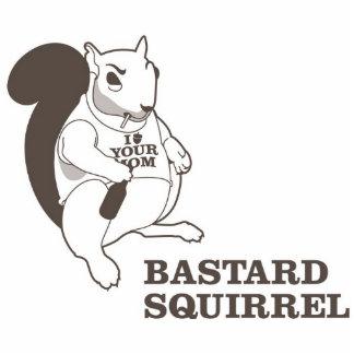 Bastard Squirrel in 3D Cutout