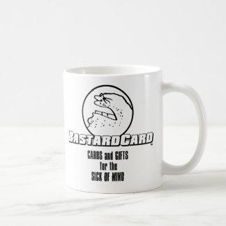 BastardCard para el enfermo de la mente Taza Clásica