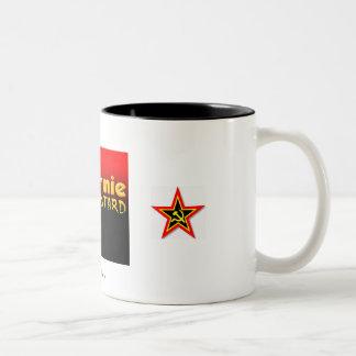 bastardo del commie, estrella del commie, estrella taza dos tonos
