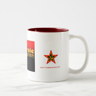 bastardo del commie, estrella del commie, estrella taza de dos tonos