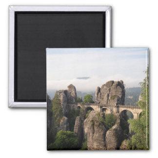 Bastei Bridge In Saxon Switzerland magnet