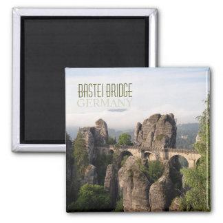 Bastei Bridge In Saxon Switzerland text magnet