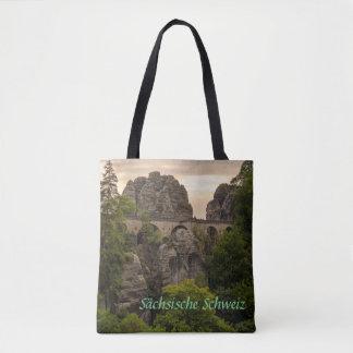 Bastei Brücke Tote Bag