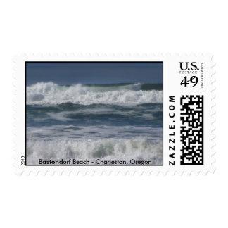 Bastendorf Beach - Charleston, Oregon Stamp