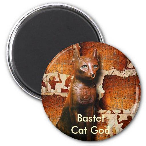 BASTET ~ Ancient Egyptian Cat God Magnets