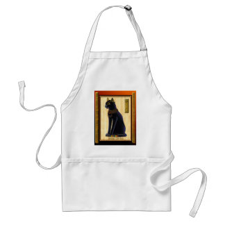 BASTET ~ Cat God Adult Apron