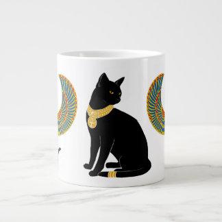 Bastet: ¡Gato con alas de ISIS! Taza De Café Grande