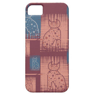 Bastet mitología Cats en pastel colors Funda Para iPhone 5 Barely There
