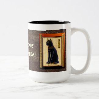 """""""Bastet, tazas y tazas de dios del gato egipcio"""""""