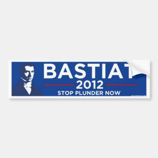 Bastiat 2012 pegatina de parachoque