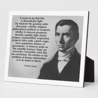 Bastiat Liberty Display Plaques