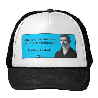 Bastiat quotation trucker hat