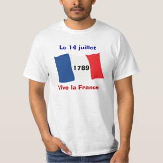 Bastille Day, 14th July, Storming of the Bastille T-Shirt