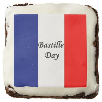 Bastille Day Brownie