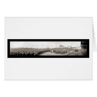 Bastille Day Devens Photo 1918 Card