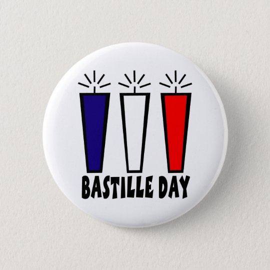Bastille Day Gifts and Tees (2) Pinback Button