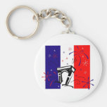 Bastille Day Gifts and Tees (4) Keychains