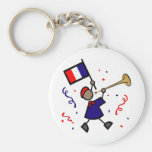 Bastille Day Gifts and Tees (8) Keychains