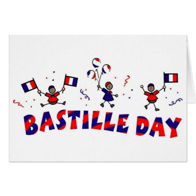 Happy birthday on bastille day greeting card zazzle m4hsunfo