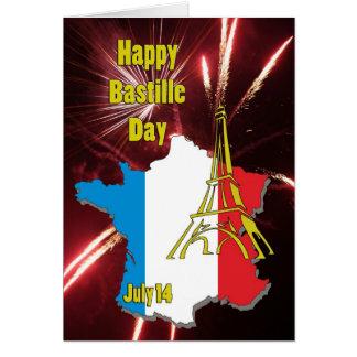 Bastille Day July 14 Card