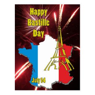 Bastille day cards greeting photo cards zazzle bastille day july 14 postcard m4hsunfo