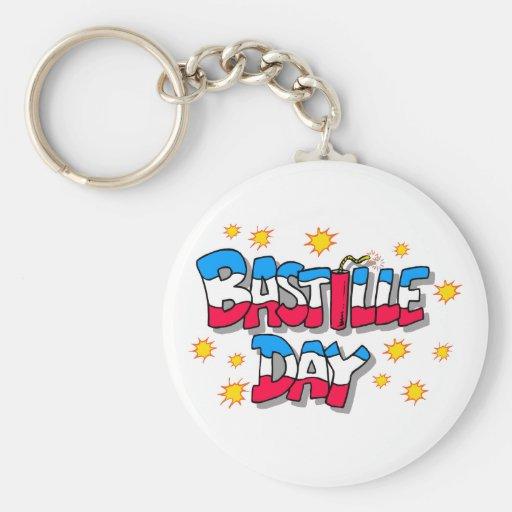 Bastille Day Keychain