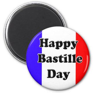 Bastille Day 2 Inch Round Magnet
