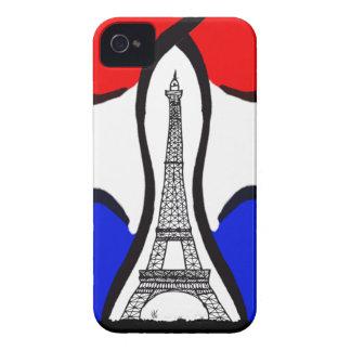 Bastille Day paris iPhone 4 Case-Mate Case