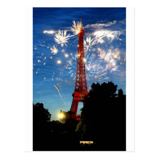 bastille day postcard