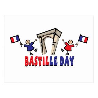 Bastille Day! Post Card
