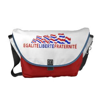 Bastille Day Rickshaw Messenger Bag