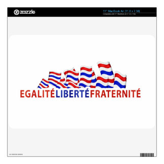 Bastille Day Zazzle Skin MacBook Decal