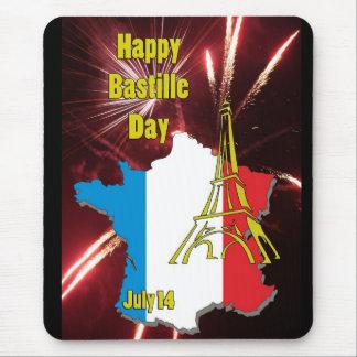 Bastille día 14 de julio alfombrilla de ratón