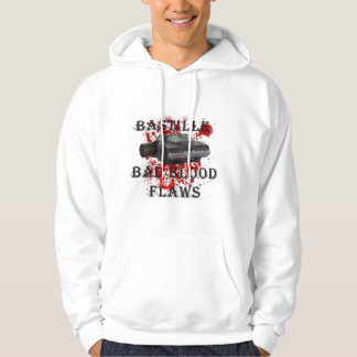 BASTILLE Men's American Apparel Poly-Cotton Blend Hoodie