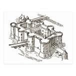 Bastille prisonParis Postcard