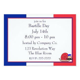 Bastille Snail Invitation