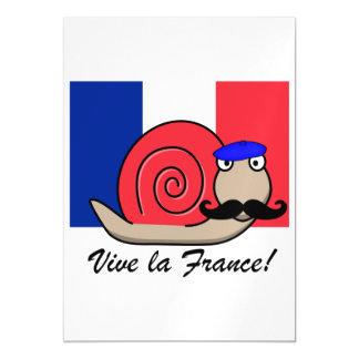 Bastille Snail Magnetic Card