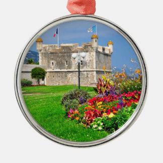 Bastión de Menton en Francia Ornamente De Reyes