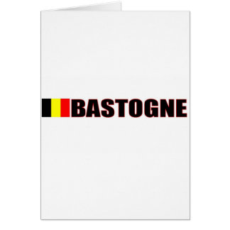 Bastogne, Belgium Card