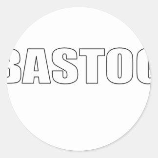 Bastogne, Belgium Classic Round Sticker